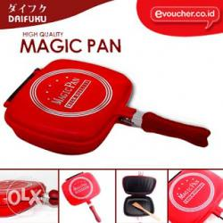 Ceramic Coated Double Sided Magic Fry Pan - (TS-018)