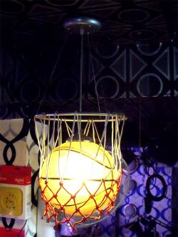 Basket Ball Designed Hanging Light - (OR-004)