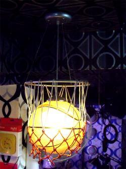 Basket Ball Designed Hanging Light - (OR-004)