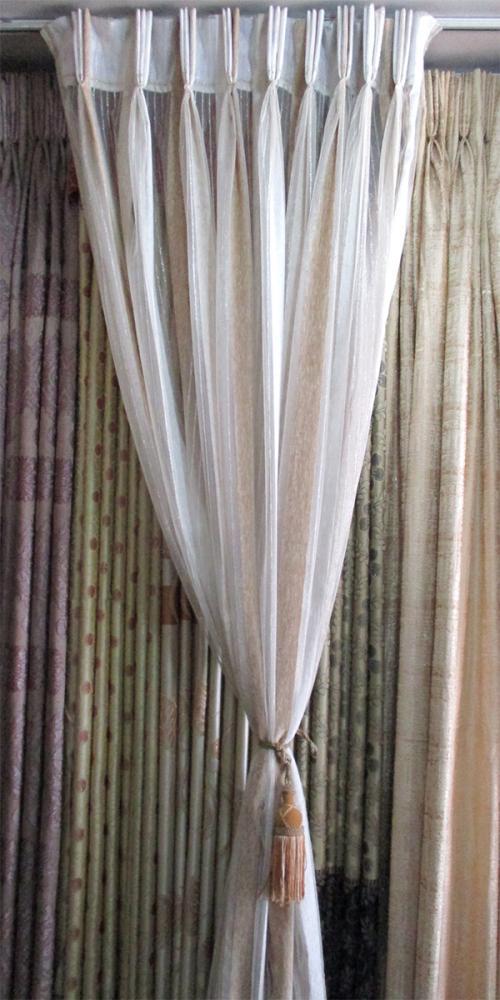 Polyster Net Curtain - Per Meter - (OC-003)