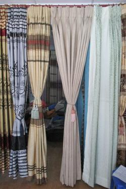 Plain Cotton Curtain - Per Meter - (OC-006)
