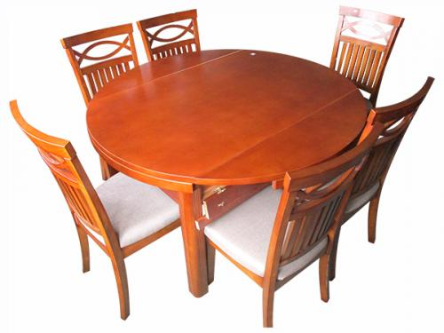 Two Functional Wooden Dinning Table - 54 x 54 - (LS-006)