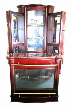 Corner Mini Bar Cabinet - (LS-009)