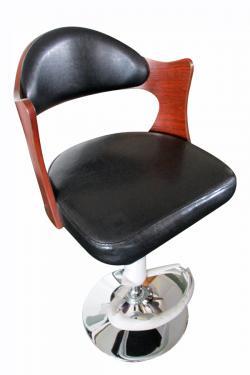 Wooden Bar Chair - (LS-010)