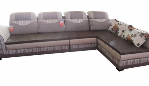 Febric L Shape Sofa - 130 x 71 - (LS-016)