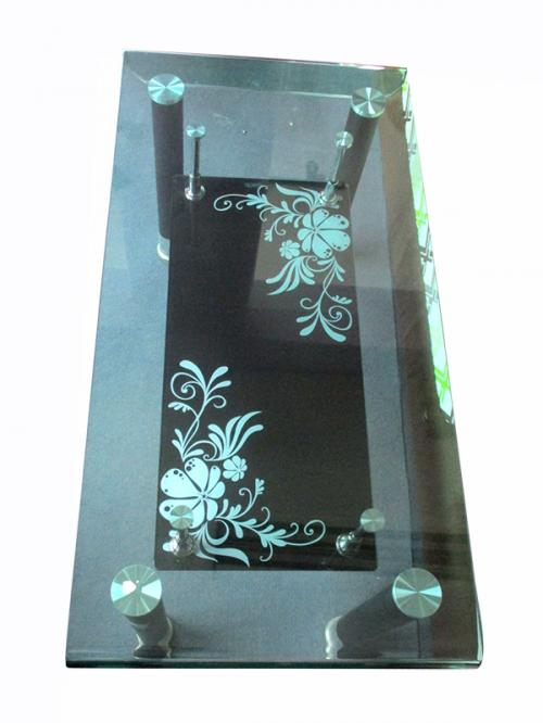 Glass Coffee Table - 36x18 - (LS-023)