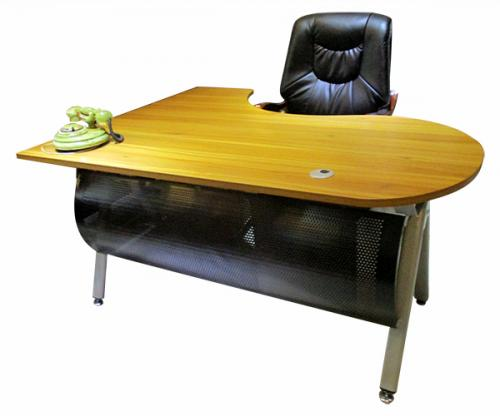 L Shape Contemporary Office Table - (LS-048)