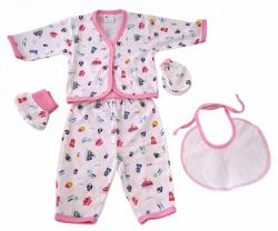 New Born Baby Dress Set - (KC-002)