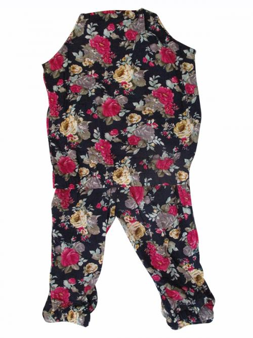 Girl's Floral 2 Piece Set - (KC-022)