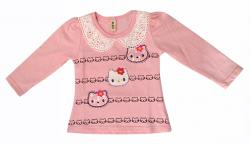 Hello Kitty Printed T-Shirt For Girls - (KC-024)