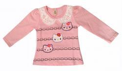 Hello Kitty Printed T-Shirt For Girls - (KC-024)