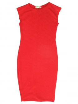 Plain Red One PIece - (KC-034)
