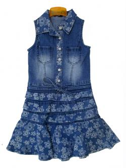 Jeans One Piece For Kids - (KC-036)