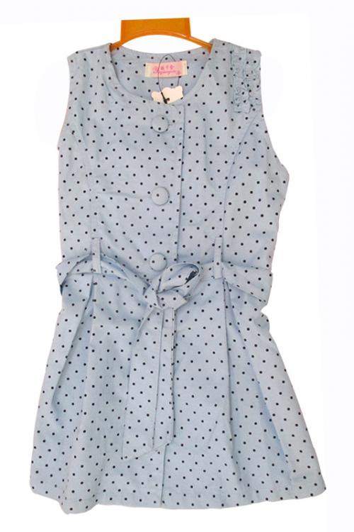 Dotted One Piece For Girl - (KC-038)