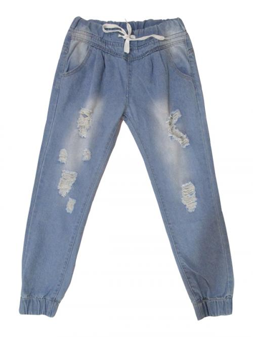 Ladies Soft Jeans Jogger - (KC-051)