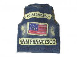 Grunge Jeans Half Jacket - (KC-054)