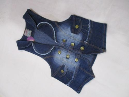 Ladies Half Denim Jacket - (KC-056)