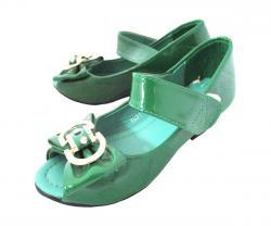 Green Fancy Sandal For Kid's - (KC-064)