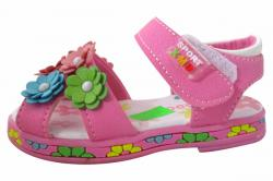 Summer Footwear Toddler Floral Sandals - (KC-068)