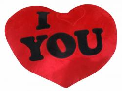 I Love You Heart Shaped Pillow - Hangable - (KC-106)