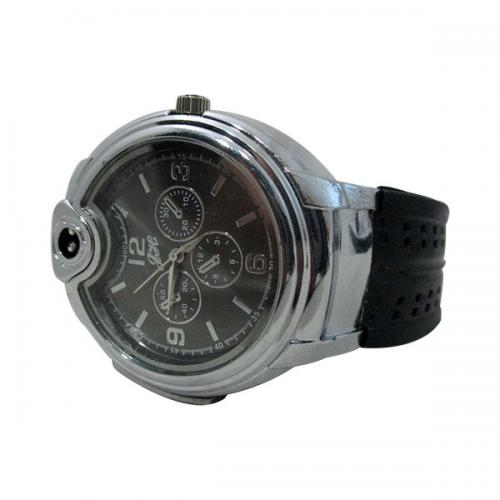 Watch Lighter Combination (Black) - (GG-041)