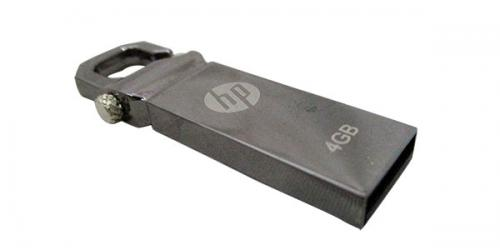 HP 4 GB Pen Drive - Metal Body - (GG-046)
