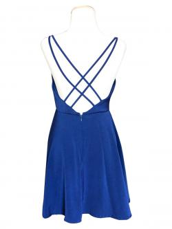 Silk Dark Blue One Piece - (SAS-007)