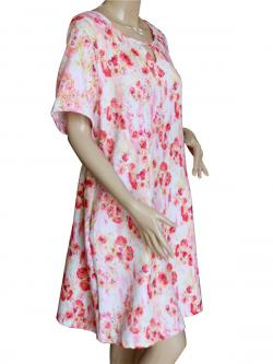 Floral Printed Dress - (SAS-010)