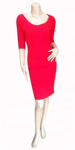 Red Bodycone Dress For Ladies - (SAS-015)