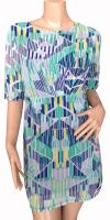 Multi Color Printed Dress For Ladies - (SAS-012)