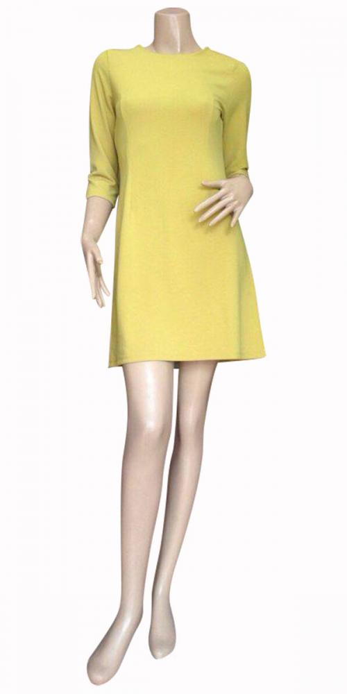 Yellowish Green Color One Piece - (SAS-016)