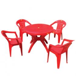 Dinning Table Set (Round) - (UT-048)