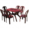 Dinning Table Set (Square) - (UT-050)