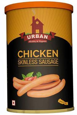 Canned Skinless Chicken Sausage - 430gm - (UF-008)