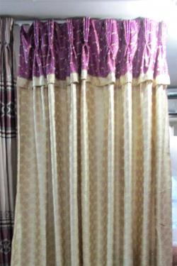 Silk Cotton Curtain - Per Meter - (OC-016)