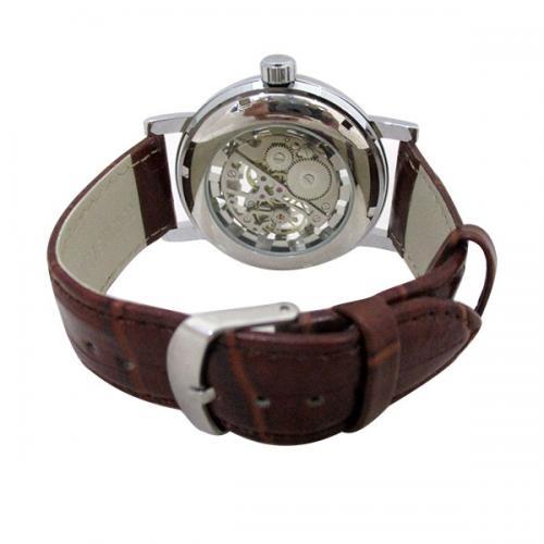 SEWOR Brand Skeleton Mechanical Watch - (NL-105)