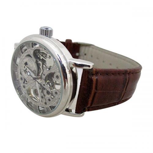 SEWOR Brand Skeleton Mechanical Watch - (NL-106)
