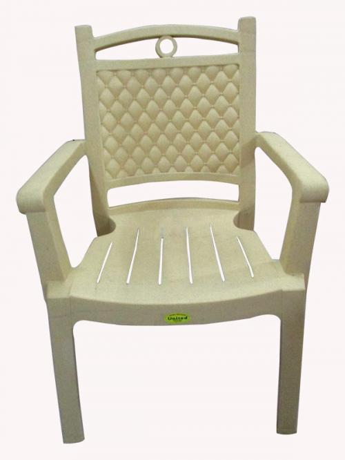 Deluxe Comfortable Plastic Chair - (UT-021)