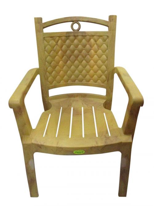 Deluxe Comfortable Plastic Chair - (UT-022)