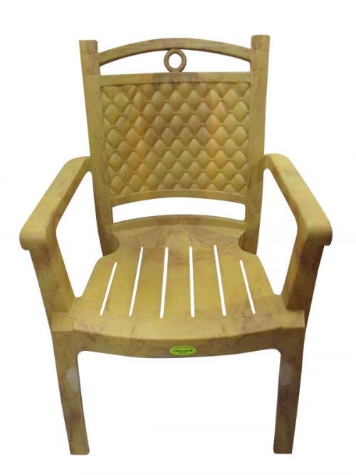 Deluxe Comfortable Plastic Chair - (UT-022)