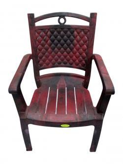 Deluxe Comfortable Plastic Chair - (UT-023)