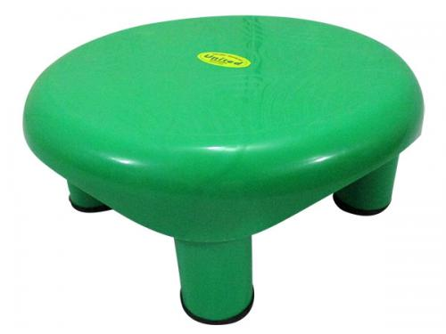 Green Color Bathroom Plastic Stool - (UT-024)