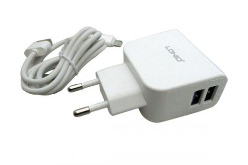 LDNIO 2.1A Adapter With Double USB Slot - (DL-AC56)