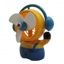 Minion USB Rechargeable Fan - (GG-064)