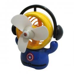 Captain America USB Rechargeable Fan - (GG-067)