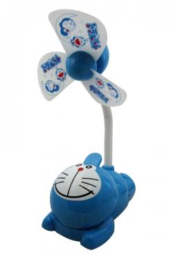 Doraemon Rechargeable Fan With Clip - (GG-080)