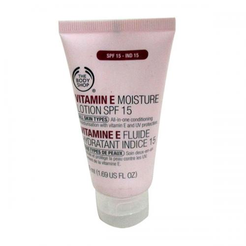 Vitamin E Moisture Lotion SPF 15 50ml - (SC-018)