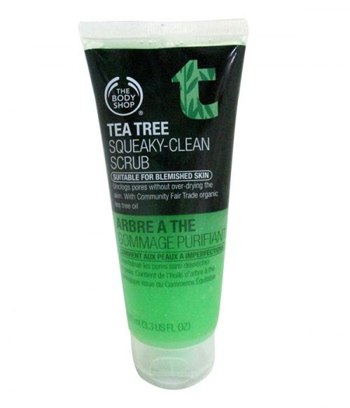 Tea Tree Squeaky Clean Scrub 100ml - (SC-025)