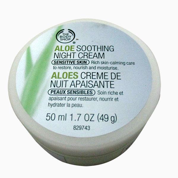 Aloe Soothing Night Cream 50ml - (SC-050)