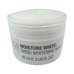 Moisture White Shiso Whitening Night Treatment 40ml - (SC-060)